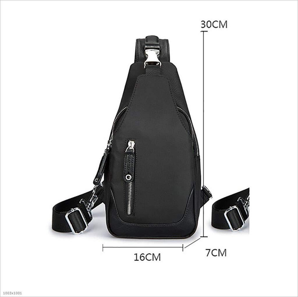 DABUOT Mens Messenger Bag Backpack Strap Chest Bag Backpack,Gray