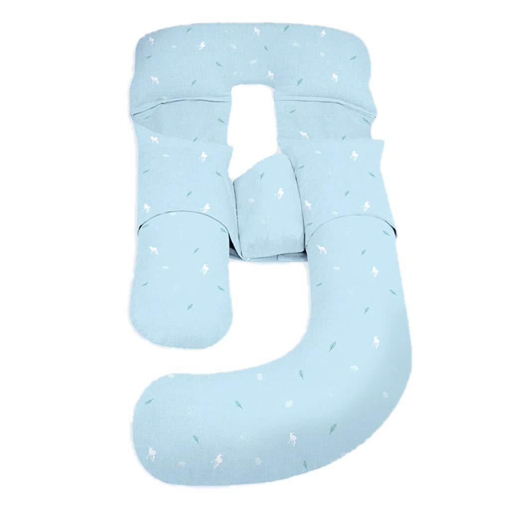Amon Pregnant Pillow Cover Pregnant Women Pillow u-Shaped Pillow Nursing Waist Side Sleeping Pillow Side Sleeping Pillow Sleeping pad Pregnancy Stomach Lift Sleeping Artifact Bed Pillow