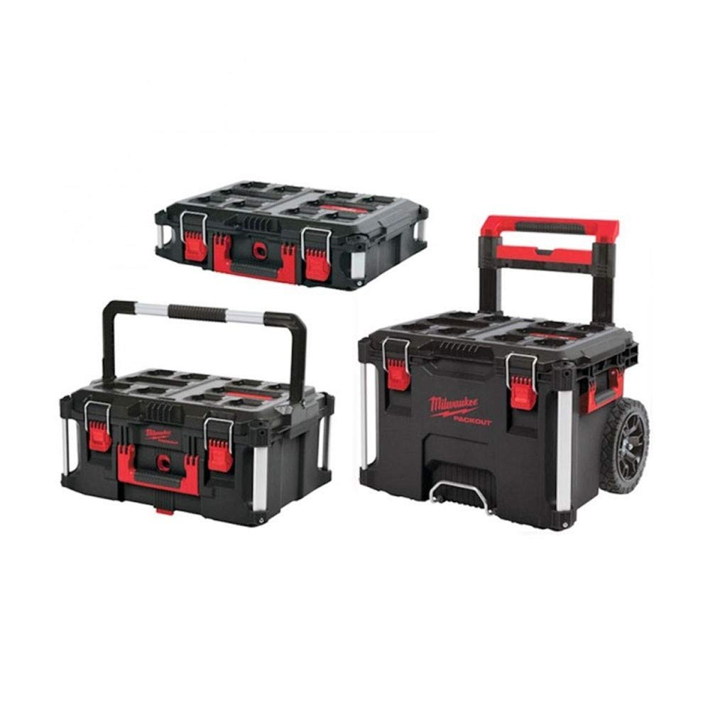 Milwaukee 4932464244 932464244 PACKOUT Trolley Set, 3 Piece