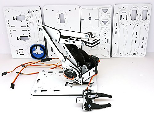Armuno mearm and arduino compatible diy robot arm kit