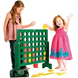 Garden Games JUMBO 4-In-A-Row Game | Wood | 30""