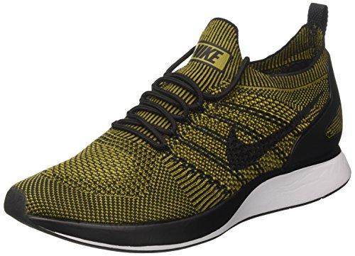 Nike Herren Lucht Zoom Mariah Flyknit Racer Gymnastikschuhe, Nero Braun (zwarte Woestijn Mos Woestijn Mos Zwart)