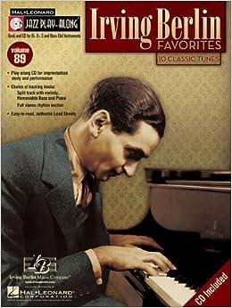 IRVING BERLIN FAVORITES JAZZ PLAY-ALONG VOLUME 89 BK/CD (2008-08-01)