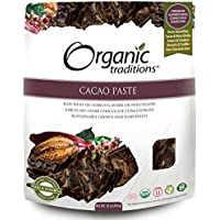 Organic Traditions Cacao Paste, 454 Grams