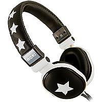 Moki ACCHPPOC Rockstar Soft Cushion Headphones, Black