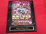: Mike Trout Anaheim Angels 2016 MVP Collector Plaque w/8x10 Photo