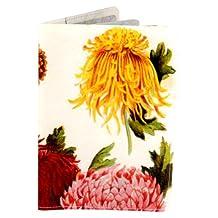 Chrysanthemum Travel Passport Holder