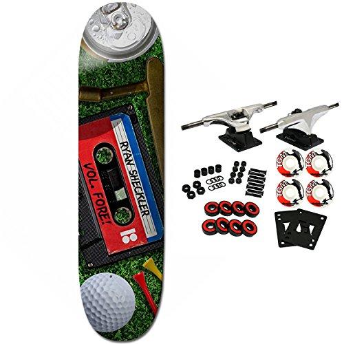 Plan B Skateboard Complete Sheckler Mixtape 8.25″