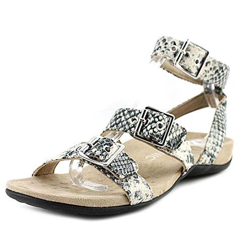 VIONIC Womens Rest Sahara Backstrap Sandal Natural Snake