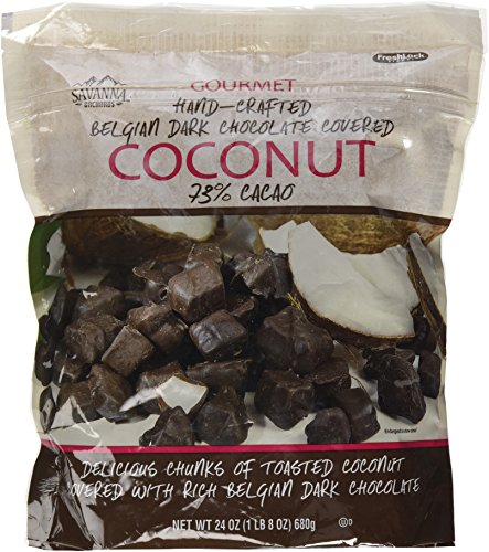 Chocolate Coconut Creams Dunmore Candy Kitchen: Best Savanna Orchards Dark Chocolate Covered Coconut, 24