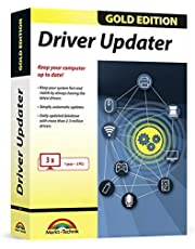 Driver Updater Gold Edition - always keep your drivers up-to-date for Windows 10, 8.1, 7 - keep your computer system fast, safe and stable