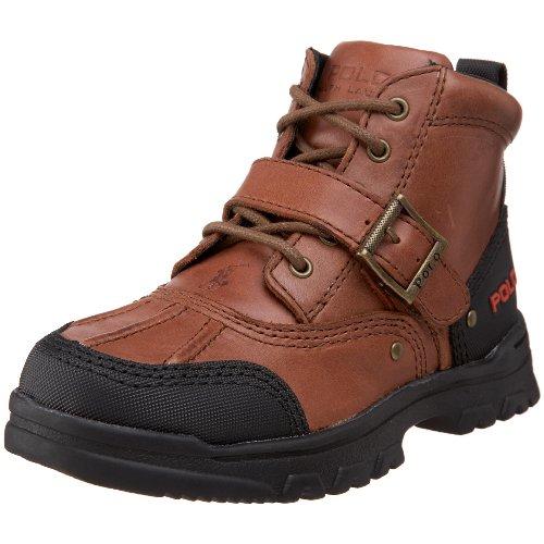 Polo By Ralph Lauren Tyrek II Boot (Toddler/Little Kid/Big Kid),Brandy Leather,4.5 M US Big Kid by Polo Ralph Lauren