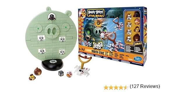 Angry Birds Juegos Infantiles Hasbro Star Wars Jenga la Estrella de la Muerte A2845E24: Amazon.es: Juguetes y juegos