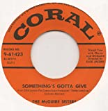 RHYTHM 'N' BLUES / SOMETHING'S GOTTA GIVE (45/7