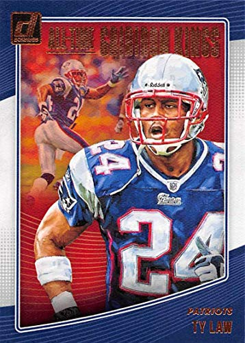 2018 Donruss All-Time Gridiron Kings #29 Ty Law New England Patriots Official NFL Trading Card