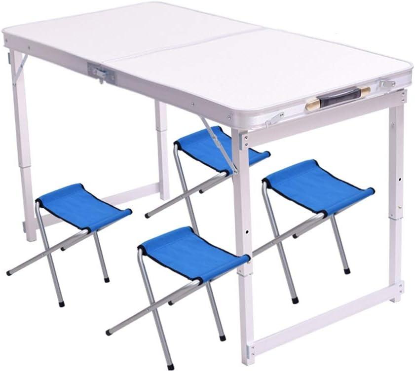 Unisex Tafel Opklapbare Tafel, Wit Met Handvat Draagbare Picknicktafel Voor Buiten, Eenvoudige Laptoptafel Voor Thuis, 3 Stijlen Picknicktafels (Color : Style1) Style3 aH8JzpF
