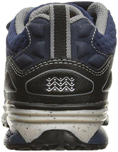 Geox J Bernie C, Zapatillas para Niños Blau (NAVY/GREYC0661)