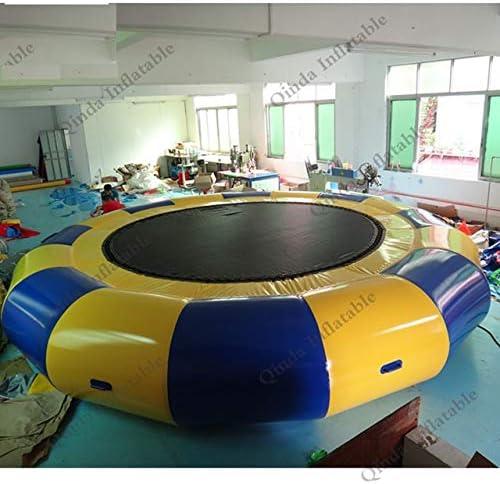 XuBa Flotador de Piscina Juguete Inflable Trampolines Plataforma de Agua Inflable Flotante Parque de Agua espectáculo: Amazon.es: Hogar