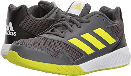 adidas Boys' Altarun K, Grey Five/Semi Solar Yellow/Core Black, 3.5 M US Big Kid - Kid Running Sneaker
