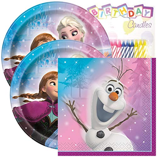 Frozen Birthday Party Pack - Includes 7