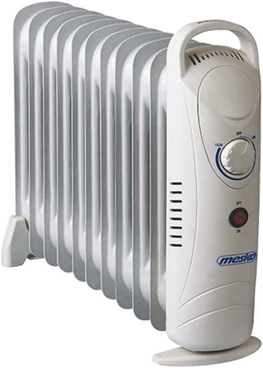 Mesko MS7806 Radiador de Aceite, Blanco: Amazon.es: Hogar