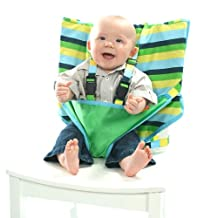 My Little Seat- Infant Travel High Chair, Colored Stripes