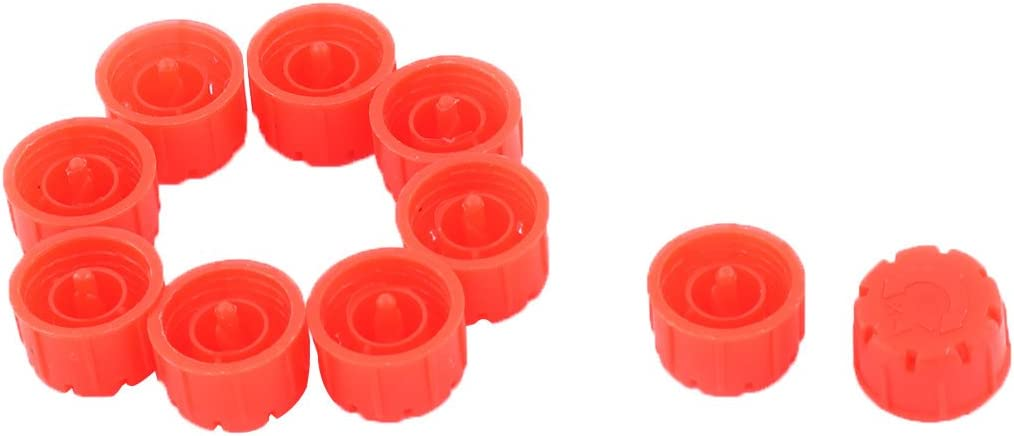 uxcell Plastic Home Irrigation Watering Adjustable Water Dripper Nozzle 10pcs