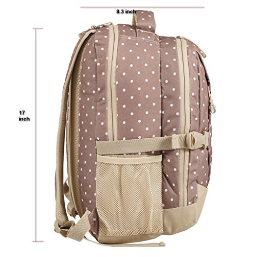 denden baby travel large backpack diaper bag khaki dots 11street malaysia. Black Bedroom Furniture Sets. Home Design Ideas