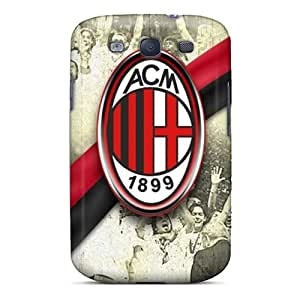 Ideal OscarAPaz Case Cover For Galaxy S3(ac Milan), Protective Stylish Case