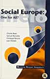 img - for Social Europe: One for All? (Monitoring European Integration) by Charles R. Bean (1998-09-06) book / textbook / text book