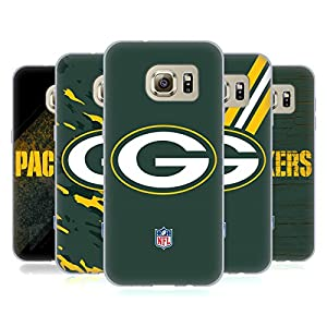 Official NFL Green Bay Packers Logo Soft Gel Case for Samsung Galaxy S7 edge by Head Case Designs