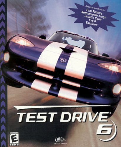 Test Drive 6 (Jewel Case) - - Shops Drive International