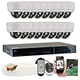 GW Security 16 Channel HDMI CCTV DVR Outdoor / Indoor Security Camera System with (16) 1000TVL Varifocal Zoom Surveillance Cameras Review