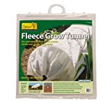 Gardman 7680 Fleece Grow Tunnel, 10' Long x 18'' High