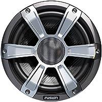 Fusion Entertainment SG-FL77SPC 280W Coaxial Sports Marine Speaker with LED, Chrome, 7.7
