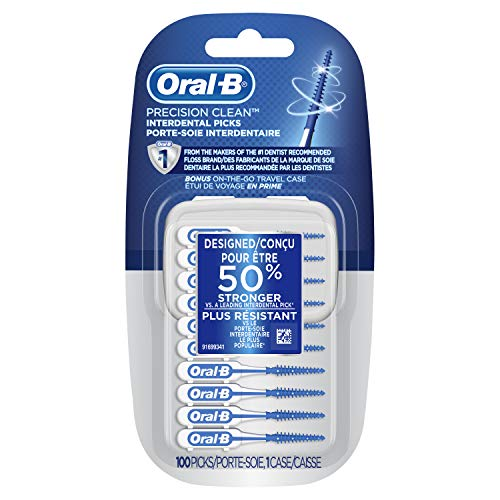 Oral-b Precision Clean Interdental Picks, 100 Count