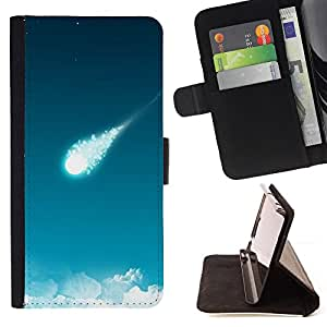 DEVIL CASE - FOR Samsung Galaxy S6 - Nature Beautiful Forrest Green 106 - Style PU Leather Case Wallet Flip Stand Flap Closure Cover