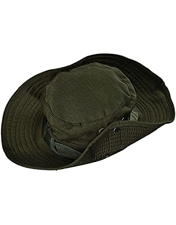 Doingshop Cotton Wide Brim Foldable Double-Sided Outdoor Boonie Bucket Hat ef5c1269319c