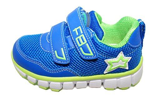 Naturino 610 VL - Zapatillas de Material Sintético Para Niño azul claro