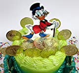 Duck Tales SCROOGE McDUCK Birthday Cake Topper Set