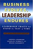 Business Evolves, Leadership Endures: Leadership Traits That Stand The Test of Time (Russell Reynolds Associates Leadership)