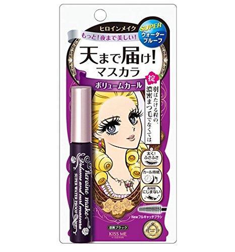 Kissme Isehan Kiss Me Heroine Make Volume & Curl & Super Water Proof Mascara 01