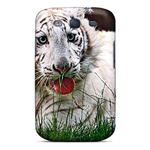 Luckmore Design High Quality Tigre Blanc Cover Case With Excellent Style For Galaxy S3