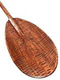 Wall Hanging Paddle 60'' Steersman - Blonde Tiger Curls | #koa6090