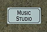 Music Studio Vintage Style Metal Sign Decor