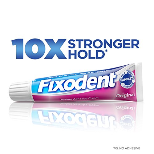 Secure Denture Adhesive >> Fixodent Original Denture Adhesive Cream 1.4 Ounce - Buy Online in UAE.   fixodent Products in ...