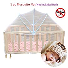 Gracefulvara Baby Toddlers Cradle Bed Canopy Mosquito Net Crib Cot Netting