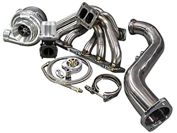 Amazon com: Turbo Manifold Downpipe Kit GS300 SC300 SUPRA 2JZGE 2JZ