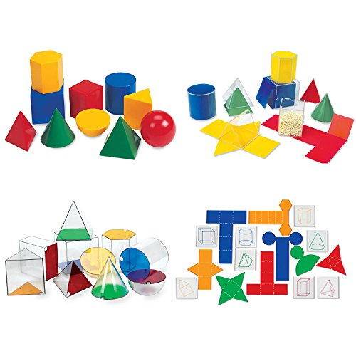ETA hand2mind Geometric Solids Kit by ETA hand2mind