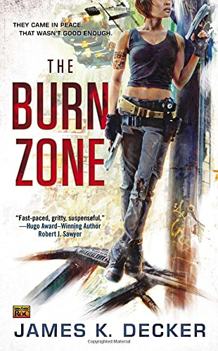 book cover of The Burn Zone
